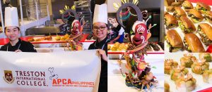 Winner in baking competition chef